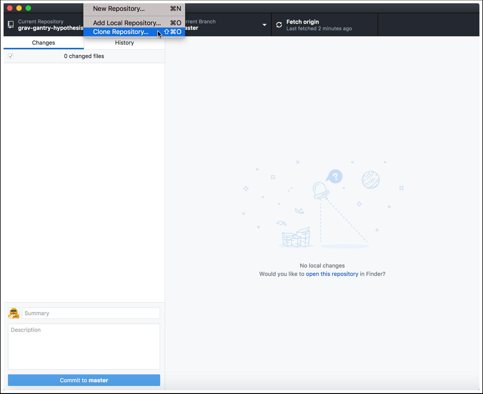 Using GitHub Desktop with GitLab - Documentation - Reclaim Hosting